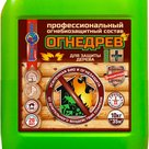 Огнедрев Био+  профессиональный огнебиозащитный пропитывающий состав для защиты дерева в Иркутске