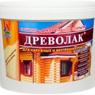 Древолак - акриловый лак на водной основе для защиты деревянных конструкций в Воронеже