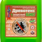 Древотекс БИО  защитно-консервирующий трудновымываемый антисептик для дерева в Иркутске