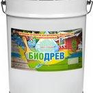 Биодрев  кроющий атмосферостойкий защитно-декоративный антисептик, 20кг в Санкт-Петербурге