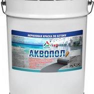 Аквопол - краска для бетонных полов на водной основе матовая