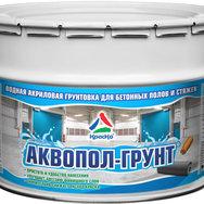 Аквопол-Грунт - грунтовка для бетонных полов матовая