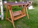 Сделаем садовые деревянные качели сами