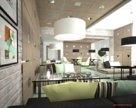 «Кофе с лавандой» - эксклюзивное интерьерное решение для кафе в гостинице «Нафтан».