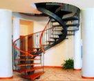 Изготовление винтовых лестниц для частных домов