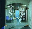 Выбор и монтаж стеклянных дверей