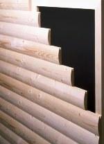 этим материалом можно отделывать внутренние и наружные стены, обшивать двери, а также городить заборы