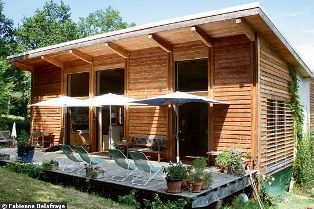 в таком летнем доме будет происходить отличная естественная вентиляция