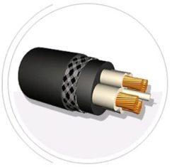 кабель с медными жилами и резиновой изоляцией