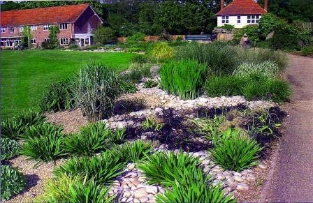алечный сад - одна из разновидностей каменных садов