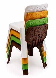 пластиковая мебель считается самой дешевой и потому популярной