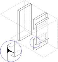 пример того, как можно сделать стеновую панель при помощи бордюров