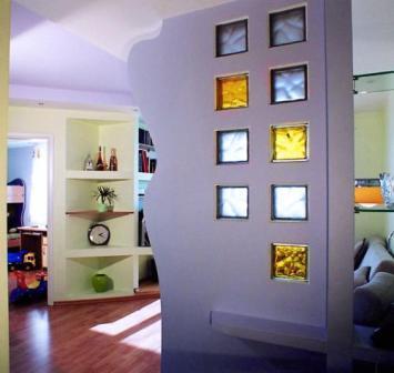 часть стены -как декоративный элемент и опора