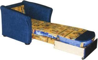 диван или кресло с выкатным механизмом трансформаци