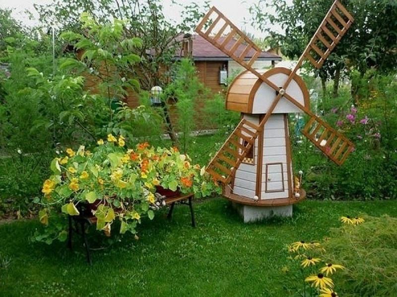 Декоративные идеи для сада