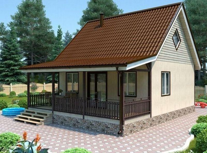 Как пристроить веранду к каркасному дому домовъ.