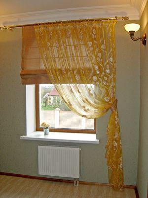 римські штори своїми руками з фото