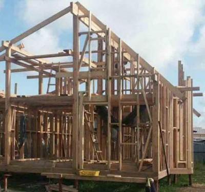 Технология строительства каркасно-щитового дома своими руками