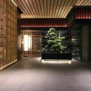 Холлы современных дорогих отелей - это своего рода отдельное направление в архитектуре или, я бы сказал, вид искусства. Лобби можно рассматривать бесконечно, как арт объект - инсталляцию, все время открывая для себя что-то новое. Интересно наблюдать,  как автору проекта удалось  с помощью строго ограниченного набора декоративных элементов, и лишь умело используя объем и пропорции, т.е. непосредственно архитектуру, создать гигантское пространство, гармонично сочетающее в себе #роскошь и #уют одновременно. #архитектура #отель #дизайн #бонсай #лобби #design #interiordesign #дизайнинтерьера #интерьер #дорогойотель #hotel #lobby #lobbylounge #luxury #luxuryhotel #timeless #timelessbeauty #timelessluxury #hoteldesign #декор #интерьер #интерьеротеля #япония #киото #японскийинтерьер #дерево #деревовинтерьере #деревянныепанели #деревянныеперегородки