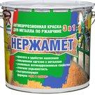 Нержамет - атмосферостойкая антикоррозионная эмаль для металла в Москве