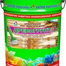 Древогрунт  антисептическая грунт-пропитка по дереву глубокого проникновения, 20кг в России