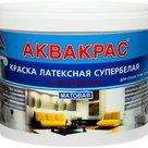 Аквакрас - краска интерьерная для сухих помещений укрывистая латексная матовая в России