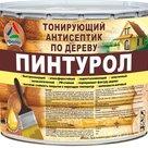 Пинтурол - атмосферостойкий защитно-декоративный тонирующий антисептик для дерева в России