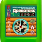 Древотекс Профи  невымываемый антисептик с высоким содержанием активных компонентов в России