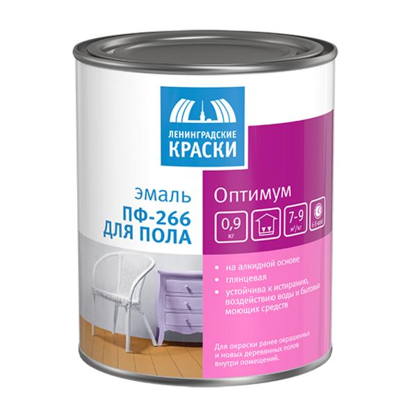 Эмаль ПФ-266 Оптимум для пола